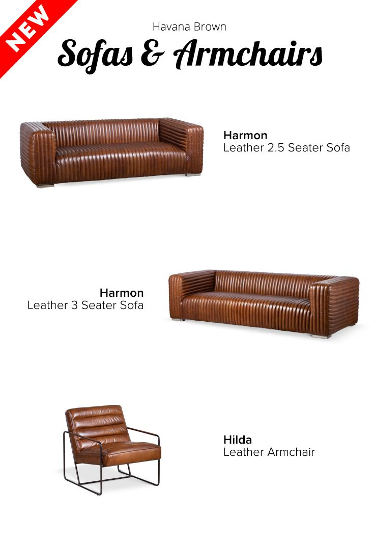 Strange New Schots Leather Range Introducing Havana Brown Leather Machost Co Dining Chair Design Ideas Machostcouk