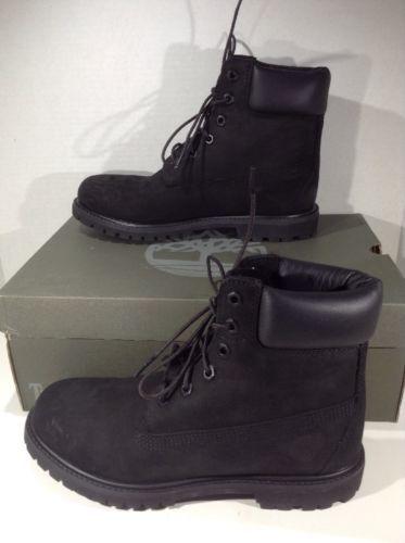 Black Ankle Boots Shoes Size .5 ZJ-350