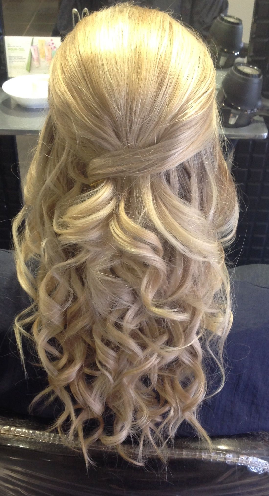 Caprious creations prom hair up hair up dous pinterest prom hair