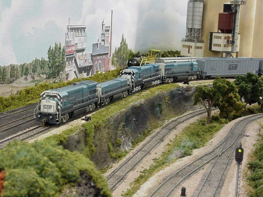 Ho Model RR Layouts   Atlas Model Railroad Co  - Freelance Railroad