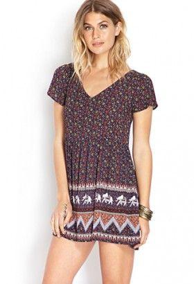 Boho Daze Peasant Dress $22.80