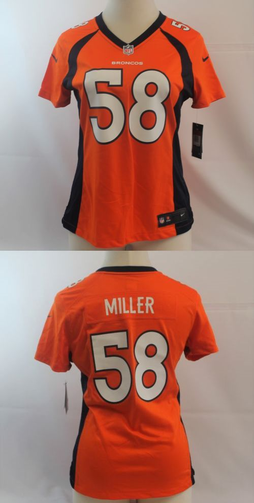 Shirts Tops 50990: Nike Von Miller Denver Broncos Womens Jersey 469898-829 Size L $95 -> BUY IT NOW ONLY: $67.99 on eBay!