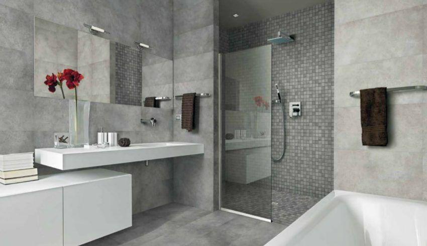 Afbeeldingsresultaat voor douche mozaiek grijs - Roux-Miroir mood ...