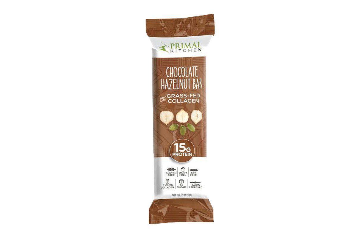 Primal Kitchen Bar, Chocolate Hazelnut, With Grass Fed Collagen, Oz