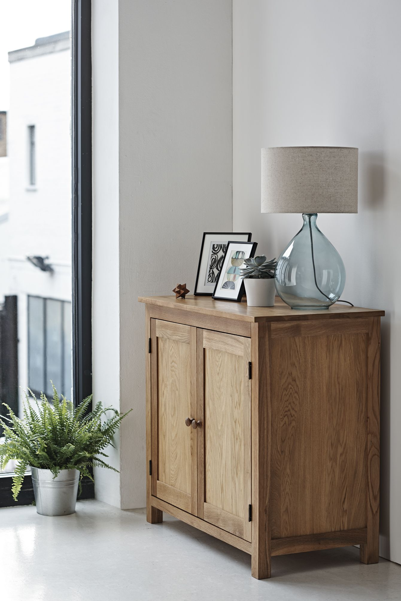 Sturdy oak sideboard for subtle storage #matchmade | Oak ...