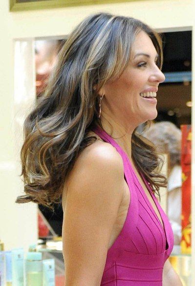Liz Hurley Hair Google Search Hairstyles To Try