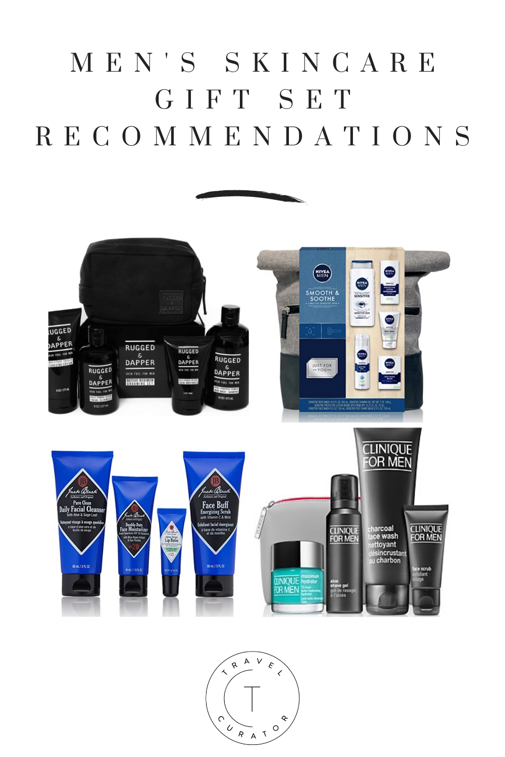 Men S Skincare Gift Set Recommendations Travel Curator In 2020 Skincare Gift Set Mens Skin Care Skin Care