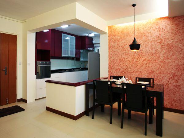Dining Area Casa Clementi Lux Design Pte Ltd Kitchen Decor Home Home Renovation
