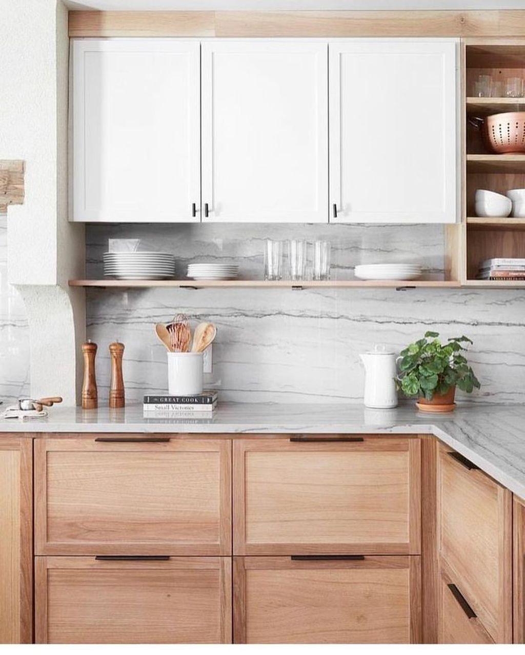 Photo of 52 Best Natural Wooden Kitchen Design Ideas