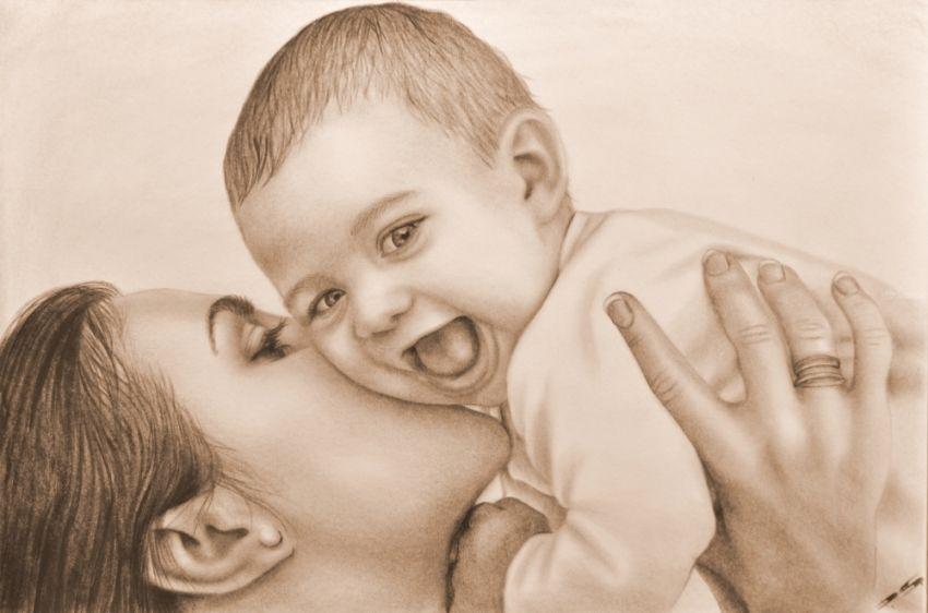 Mother And Child... ; Artist: Stefan Pabst; Art Form
