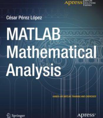 Matlab Mathematical Analysis PDF Software Pinterest