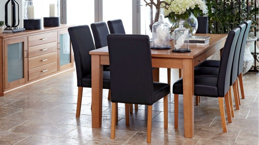 Alamein 9 Piece Extension Dining Setting