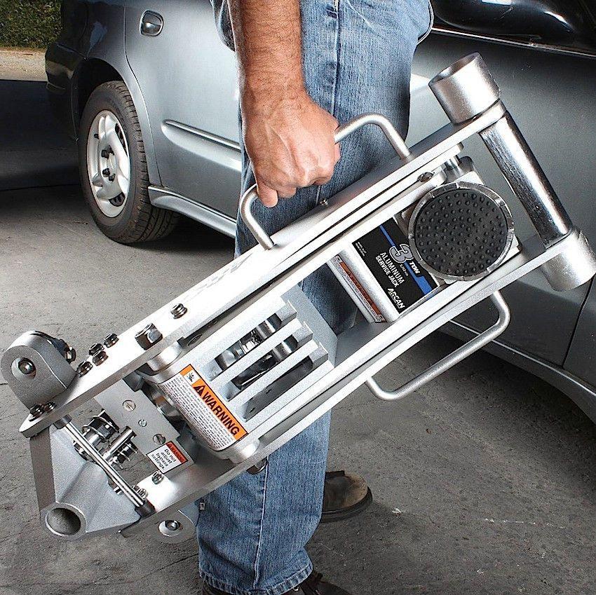 3 Ton Aluminum Floor Jack Low Profile Garage Car Truck Van Suv