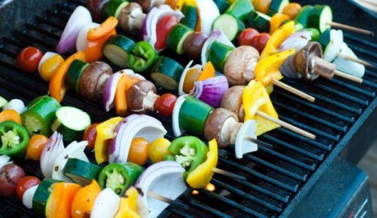 fleischfreies bbq vegetarische grill rezepte. Black Bedroom Furniture Sets. Home Design Ideas
