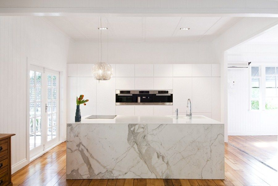 Marble Island Bench White Kitchen Miele Appliances Interiors Gorgeous Miele Kitchens Design Design Inspiration