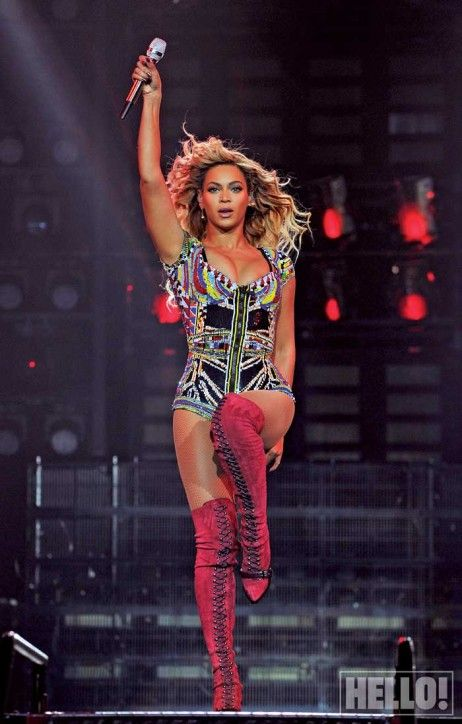 ass stage knowles Beyonce on