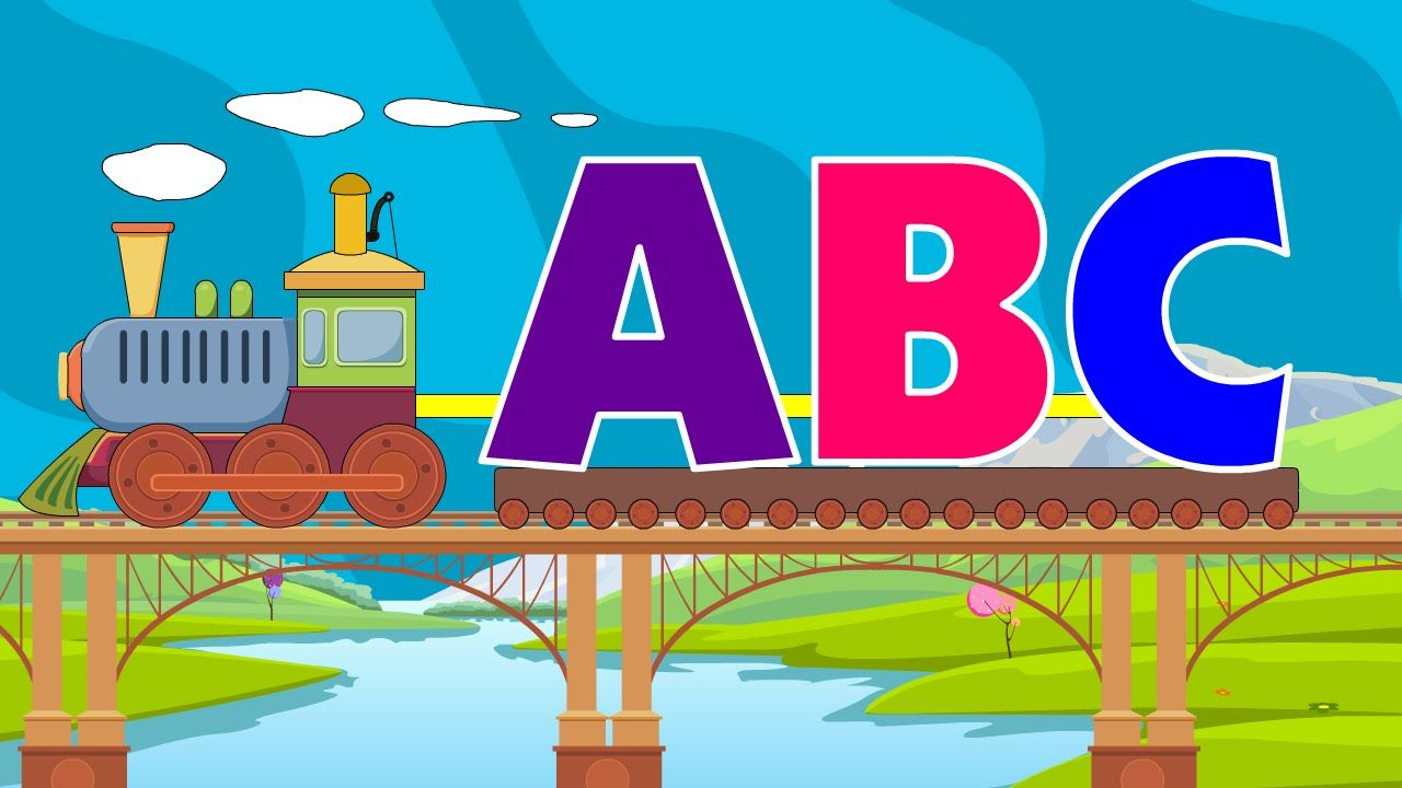 Here is a new Train ABC Song from the series ABC Songs for children
