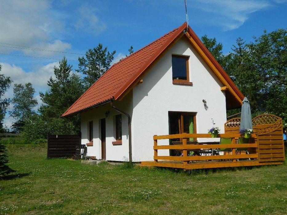 Domek Na Kaszubach Z Kominkiem Domek Nad Jeziorem Domki Na Kaszubach House Styles House Home
