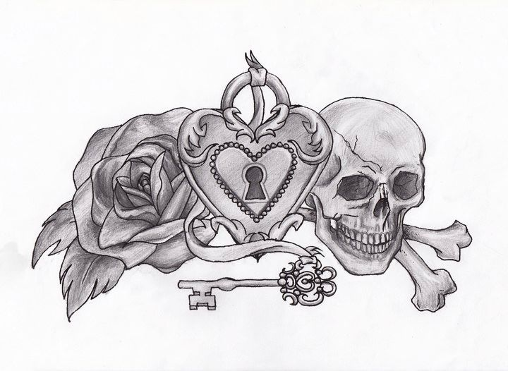 Heart Lock And Key Drawings Under Lock And Key By Nomeyyy On