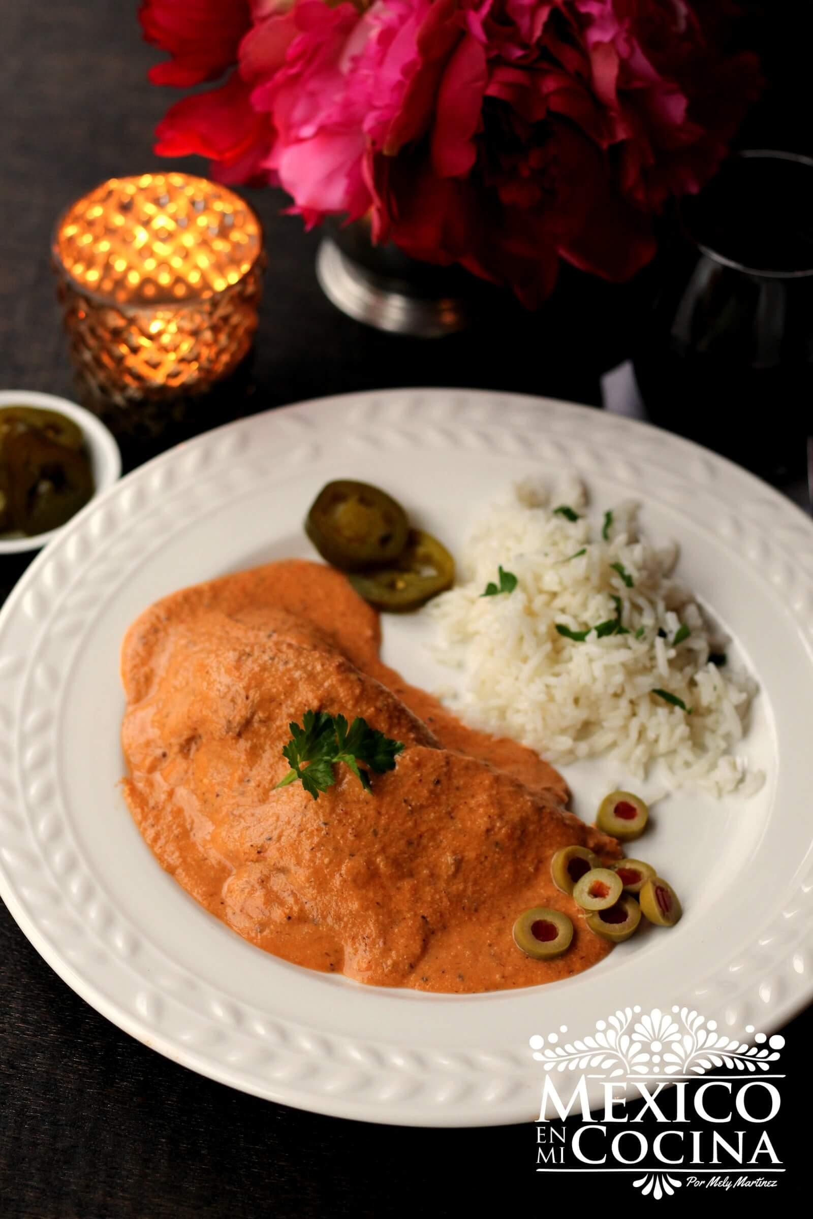 Lengua De Res En Salsa De Almendras Recetas De Comida Mexicana México En Mi Cocina Receta Lengua De Res Comida Comida Mexicana