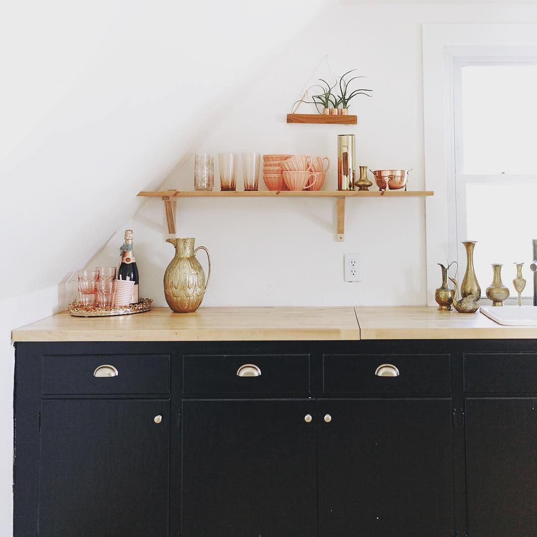 What if you tried mixed metals in your home? ⠀  @witanddelight_ shows us her take on this #Pinterest100 trend. Share your #PinterestInspired home ideas using #MyPinterest.