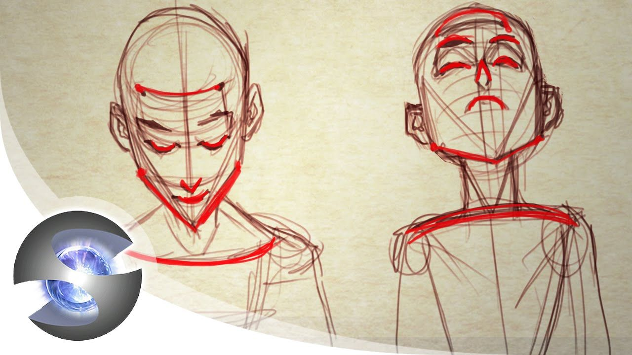 How To Draw A Head Looking Up And Down Sycra Youtube Drawings Person Drawing Art Reference Poses