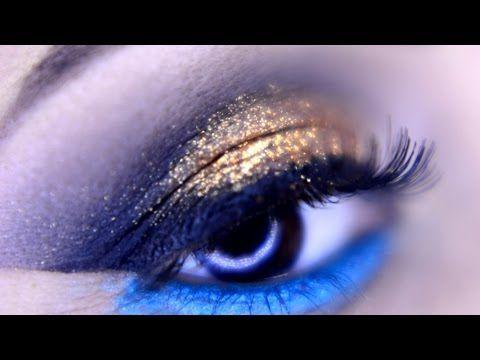 Tutorial de Maquiagem Dourada