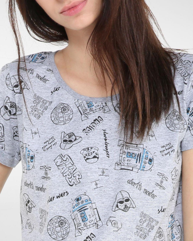 Camiseta Ícones Star Wars - Riachuelo Geek - Em Destaque - Feminino ... 26f3c02a916