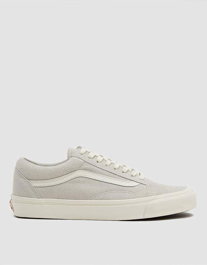 Vault by Vans OG Old Skool LX Suede Sneaker in Marshmallow