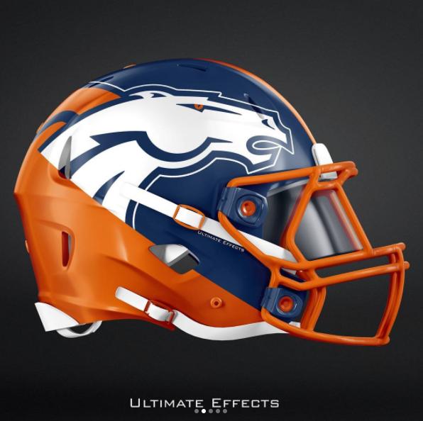Pin By Cindy Kint On Broncos 32 Nfl Teams Football Helmet Design College Football Helmets