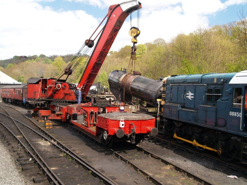 Image Gallery train crane Train, Model railway, Model trains