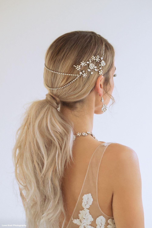 khaleesi bridal headpiece, wreath by paris | paris by debra