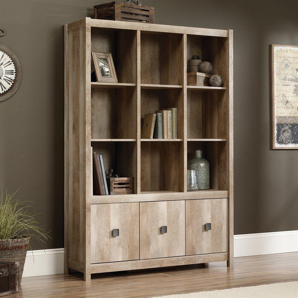 with bookshelf finishes doors walmart palladia sauder com library shelf multiple ip