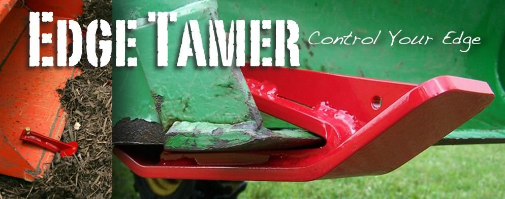 Edge tamer edge tamer edges tractor loader