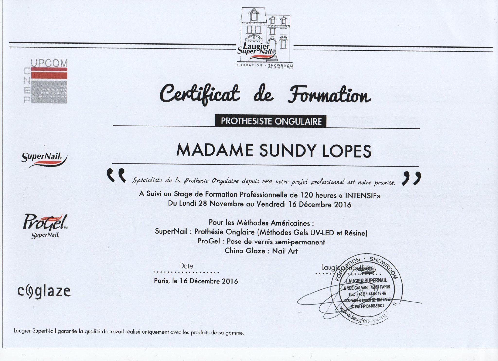 Epingle Par Wonderful By S Sur Les Indispensables Formation Prothesiste Ongulaire Certificat De Formation Formation Professionnelle