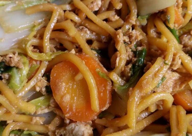 Resep Mie Kuning Basah Goreng Oleh Dapur Renkganis Resep Resep Makanan Mie