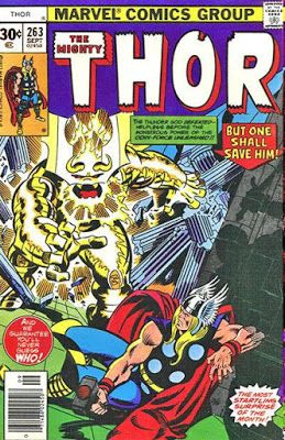 The Mighty Thor 263 The Odin Force Thor Thor Comic Book Comic