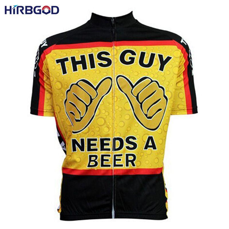 Hirbgod 2016 New Novelty Cartoon This Guy Needs A Beer Men Short