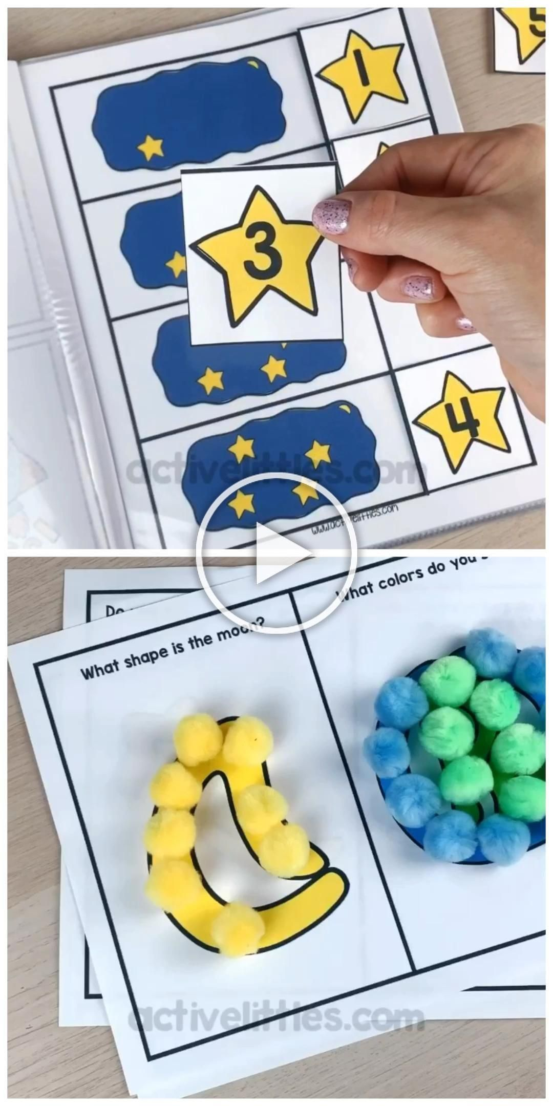 Here Is A Fun Preschool Printable That Is Space Themed