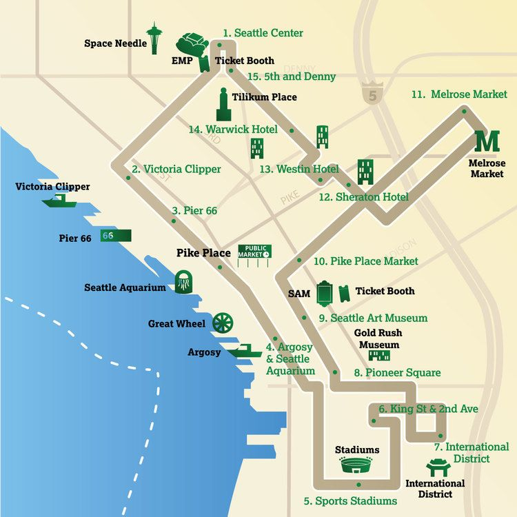 Downtown Seattle Trolley Tour Emerald City Trolley seattle