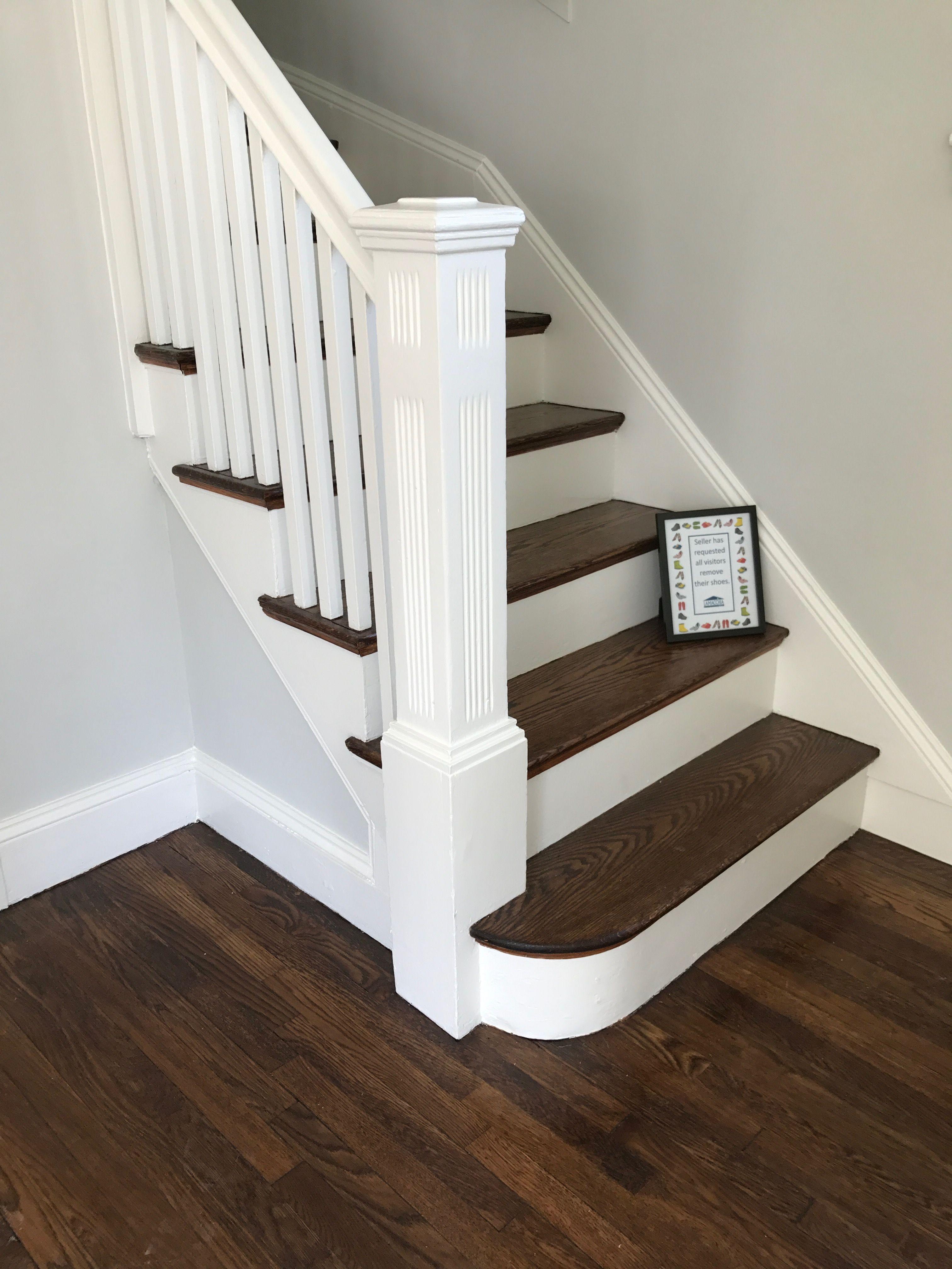 Hard wood floor dark stain entryways in pinterest