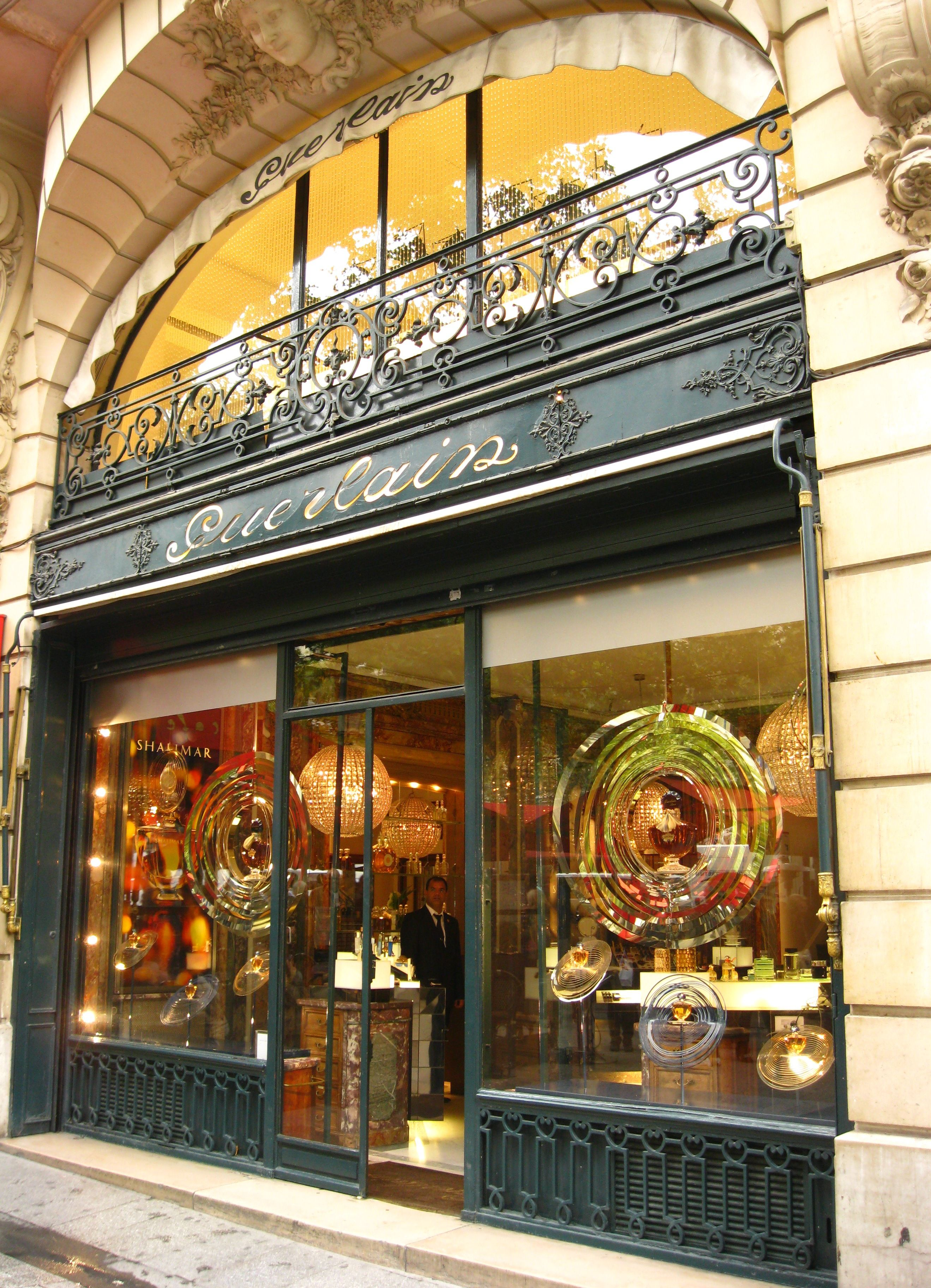 The Guerlain Store And Spa In Paris Perfume And Pampering Paris