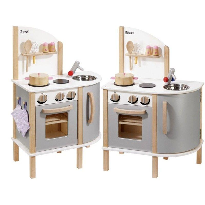 Kuchnia Drewniana Stylowa Howa Zabawkowa Kuchenka Dla Dzieci