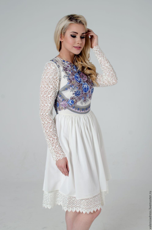 белое платье купить воронеж