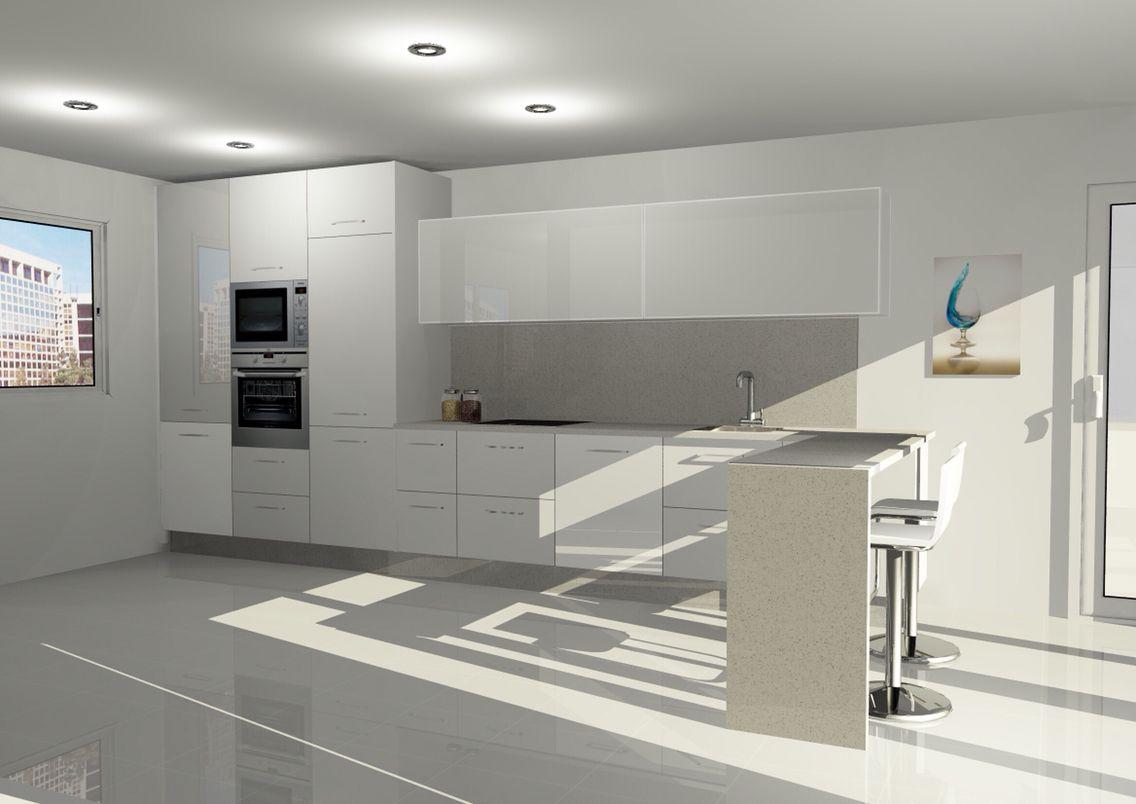 Espectaculares muebles de cocina en Madrid blancos www ...