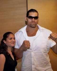 The Great Khali His Wife Harminder Kaur Wwe Couples Wwe Wwe Superstars