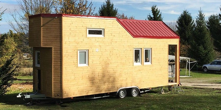 Mobiles Minihaus - Rolling Tiny House , Informationen und Angebote ...