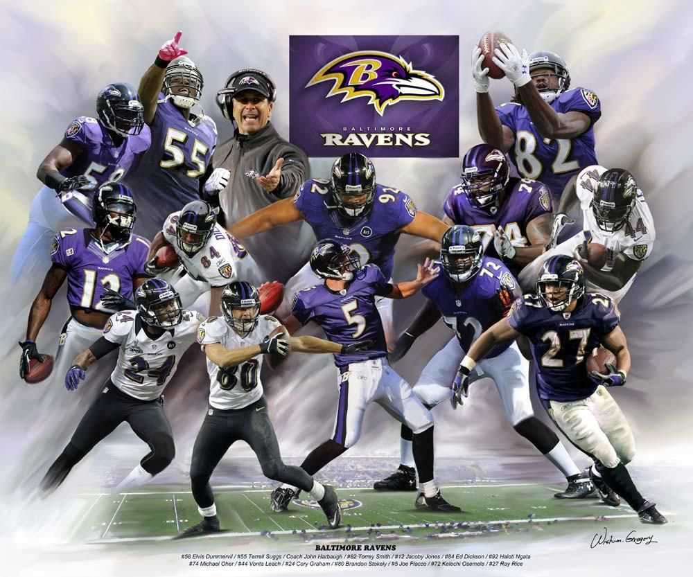 2018 new season Baltimore Ravens fighting! Baltimore