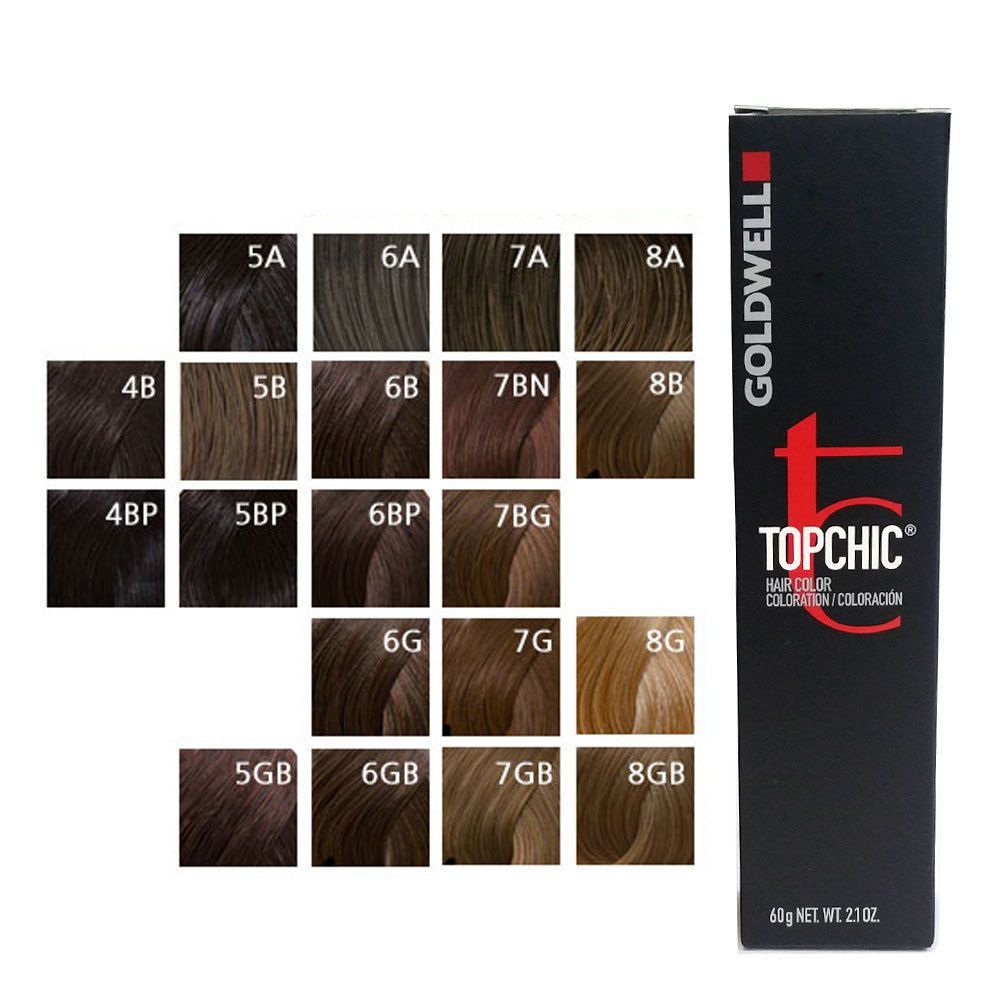 Goldwell Topchic Permanent Hair Color S 2 1 Oz Brown Choose