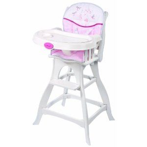 137 97 Carter S Wish Collection Classic Comfort High Chair Pink